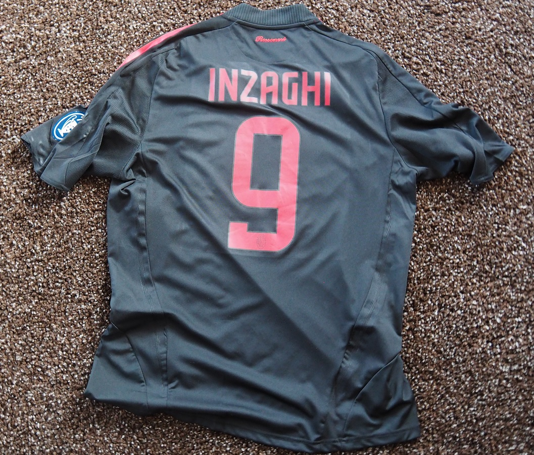 AC Milan Third 2008/09 Inzaghi Match Prepared